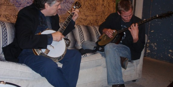 Ryan Burnett and Béla Fleck